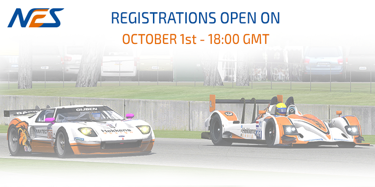 Registrations open this October