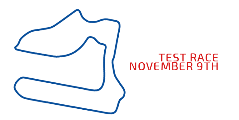 Test race coming up on Nov 9th