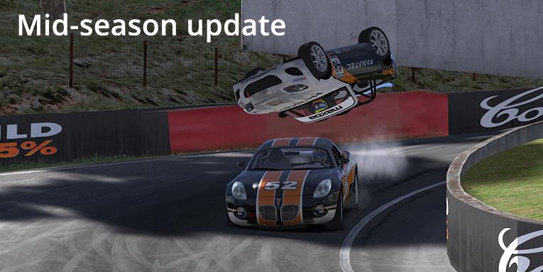 iRacing mid-season update