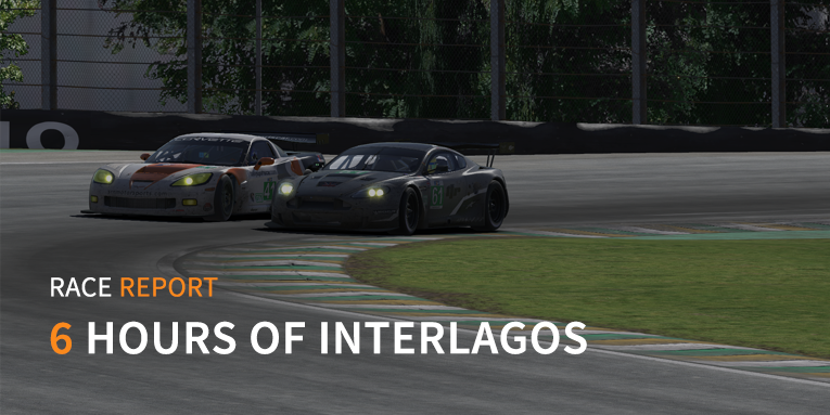 Rumble in the jungle at Interlagos