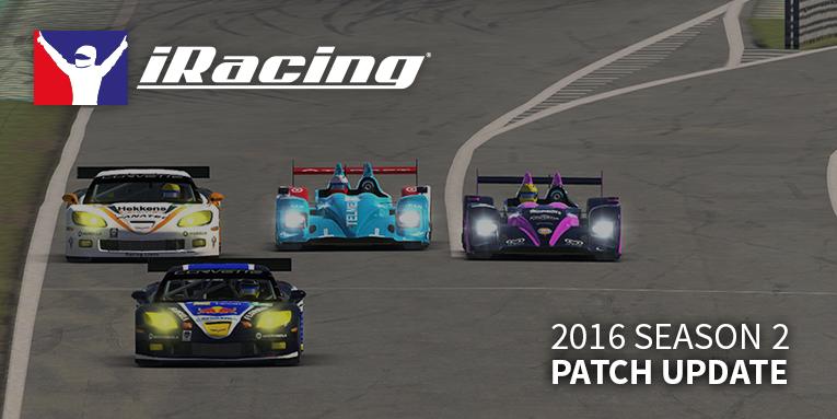 iRacing 2016 season 2 patch (update)