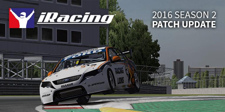 iRacing 2016 season 2 patch 2.2