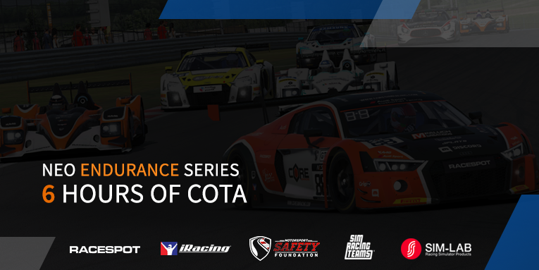 NES3: 6 hours of COTA powered by Joel Real Timing