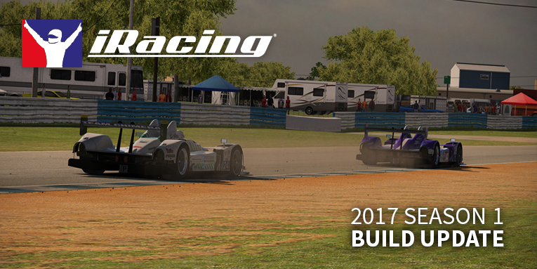 iRacing 2017 season 1 build