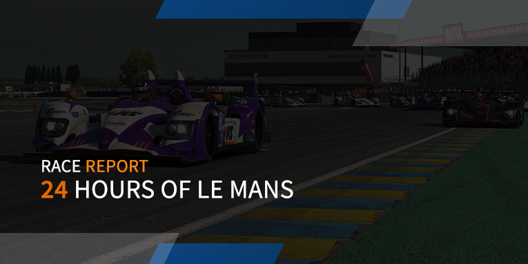 Great racing in inaugural NES 24 hours of Le Mans