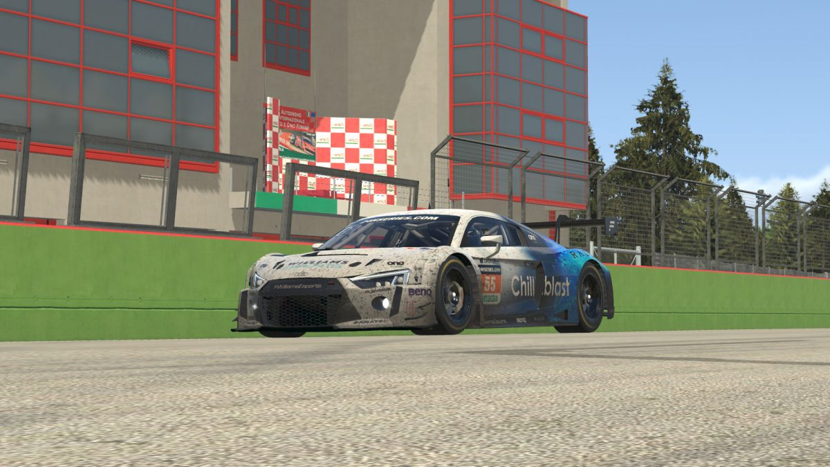 GT3 Recap: Williams Works Its Magic at Imola